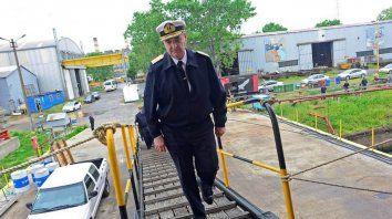 Crisis. El almirante Marcelo Srur, cuyo pase a retiro fue solicitado por el ministro Oscar Aguad.