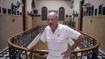 El Topo Del Re fue técnico de la selección nacional de futsal y estuvo con Palma en los charrúas.