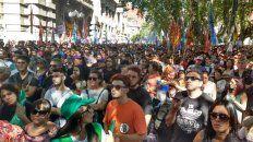 masiva marcha en rosario en contra de la reforma previsional