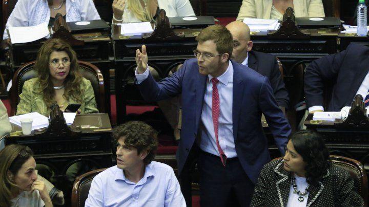 El legislador oficialista Nicolás Massot es uno de los que votará la aprobación de la reforma.