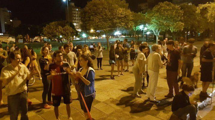 Los cacerolazos también se sintieron en Rosario
