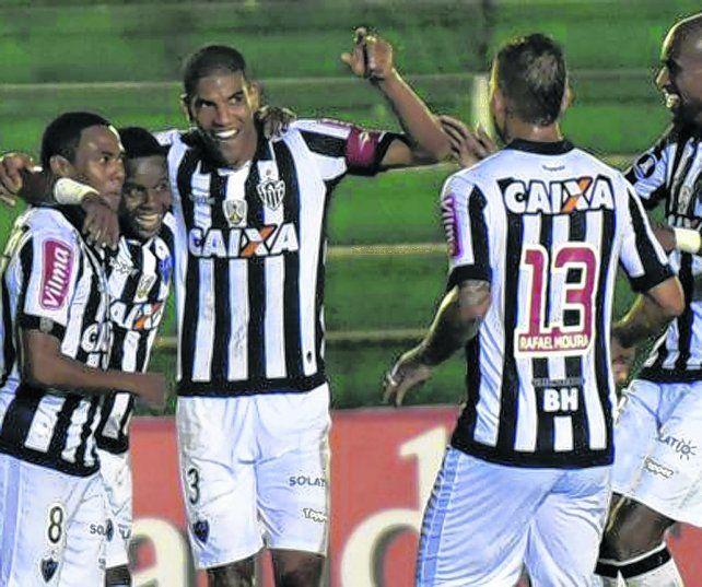 Pinta difícil. Atlético Mineiro es el equipo brasileño mejor clasificado. Además