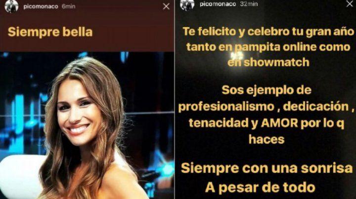 Pico elogió a Pampita: Siempre con una sonrisa a pesar de todo