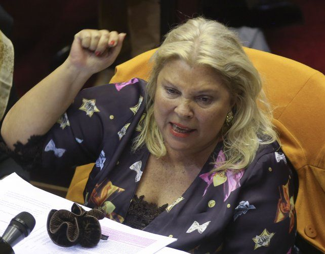 Carrió dijo que la democracia le ganó al Golpe preparado