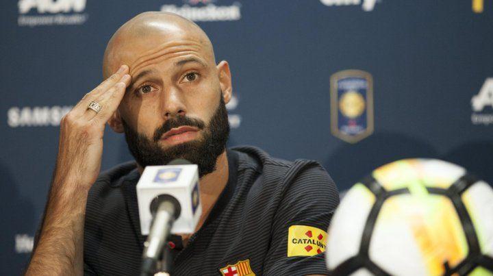 Javier Mascherano deja el Barcelona y su destino sería el fútbol chino.