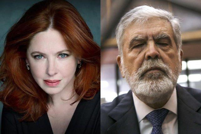 Citados. La actriz Andrea del Boca y el exministro Julio De Vido