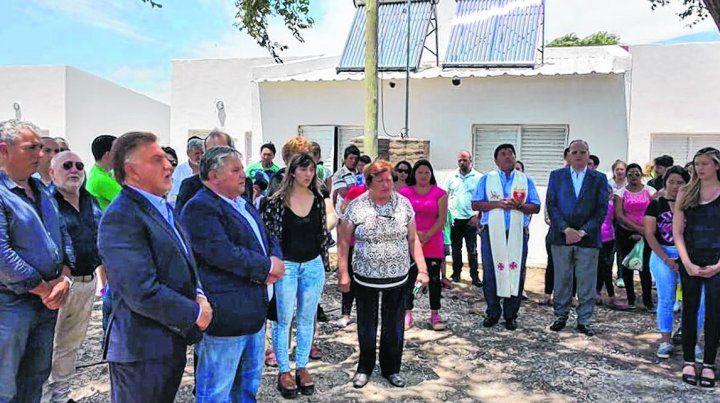 invitado. Junto a González asistió al acto el titular de Vivienda nacional.
