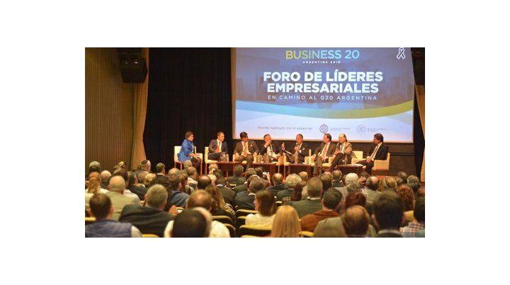 FEn noviembre pasado se realizó el Business 20 Argentina  (B20)