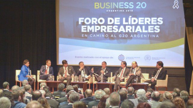 Finanzas. En noviembre pasado se realizó el Business 20 Argentina en la Bolsa de Comercio.