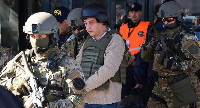 Preso. Manzanares fue detenido en julio pasado por orden del juez Bonadio.