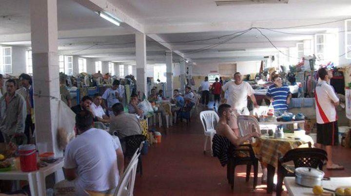 Lugar común. Presos de una unidad penitenciaria de la provincia del Chaco comparten un pabellón.