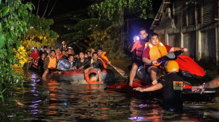 Tormenta tropical en el sur de Filipinas deja al menos 182  muertos
