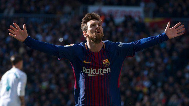 Messi terminó el año como máximo goleador del mundo