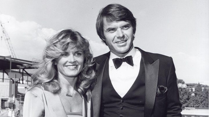 Heather Menzies-Urich y su marido Robert Urich.
