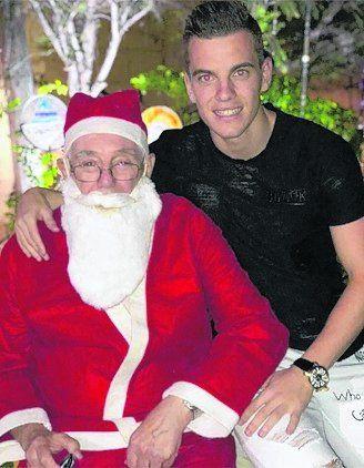 La Navidad de Gio Lo Celso y Mauro Icardi