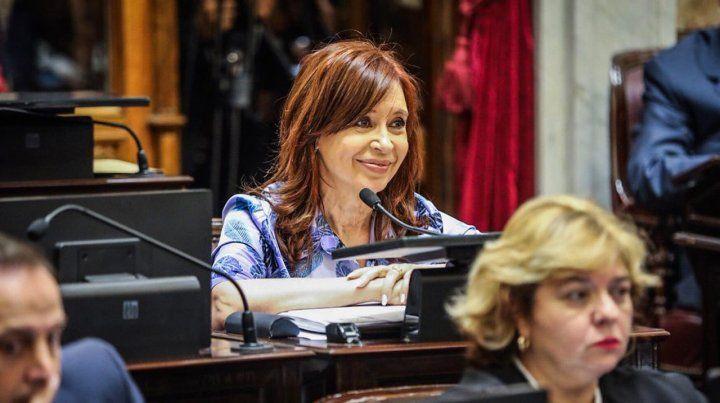 Voy a discutir todo, porque para eso me votaron, le dijo Cristina a Michetti