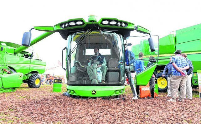 Alta tecnología. El desarrollo del sector agropecuario abre las puertas a la revolución de la información.