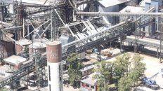 desde el aire. La Capital sobrevoló la zona afectada. En el medio de la imagen se puede ver la nave donde se produjo la explosión y el posterior incendio que resultó fatal.