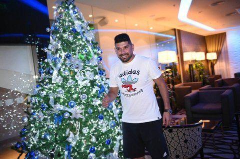 Regalo de Navidad: Ortigoza al llegar al hotel.