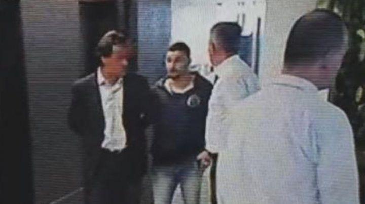 El video del momento de la detención del hijo de Aldo Ducler