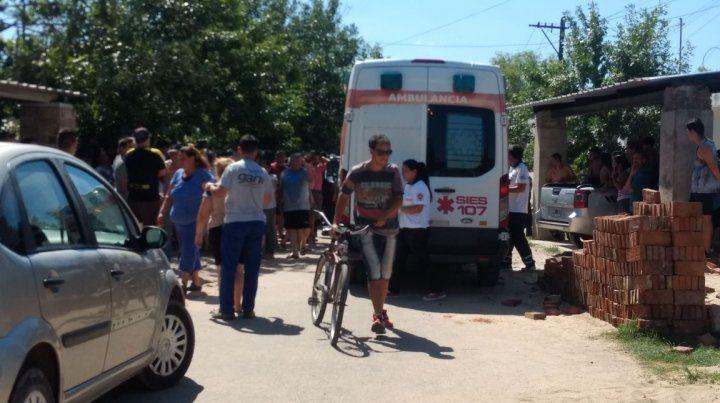 El barrio Alfonso está conmocionado con el quintúple asesinato. (Foto: diario Uno Santa Fe)