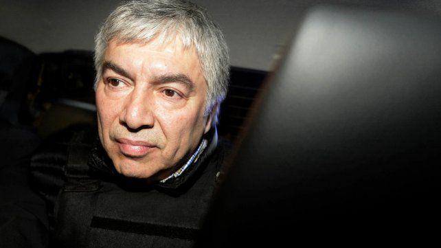 Complicado. Báez está detenido en el penal de Ezeiza desde abril de 2016.