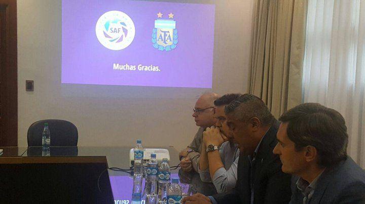 Caso cerrado. La reunión en las oficinas de la Superliga incluyó el martes último a Mariano Elizondo (CEO de la Superliga)