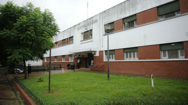 La víctima fue llevada por un familiar al Hospital Alberdi