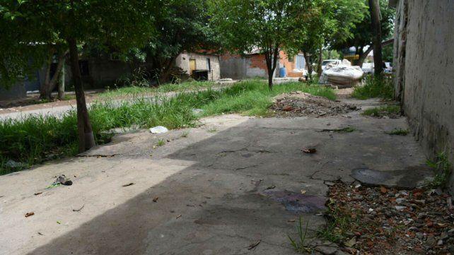 Ituzaingó y Servando Bayo, el lugar donde ocurrió el doble homicidio.