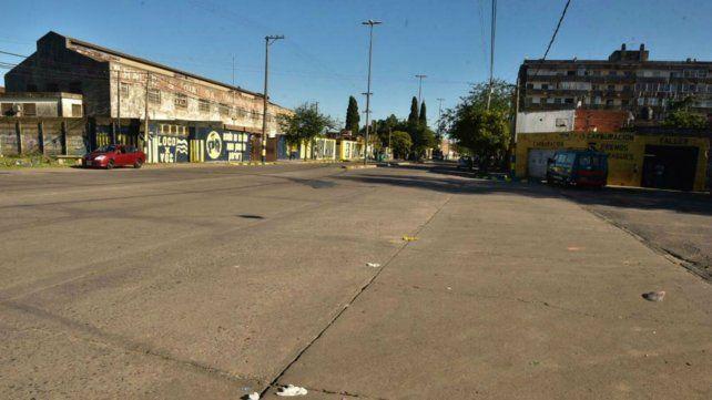 La zona de Grandoli y Seguí