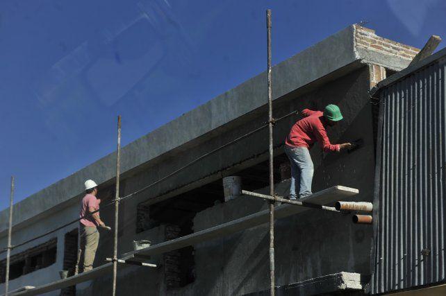 El empleo registrado en la construcción creció 6,6 por ciento en el tercer trimestre de 2017 en Santa Fe