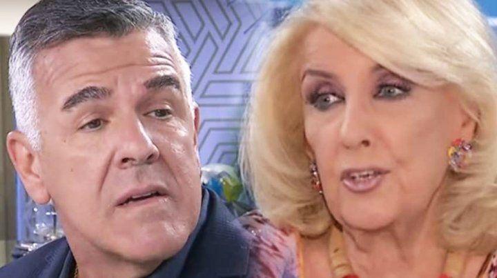Cruce televisivo. Dady y Mirtha intercambiaron opiniones políticas en el programa de la diva.