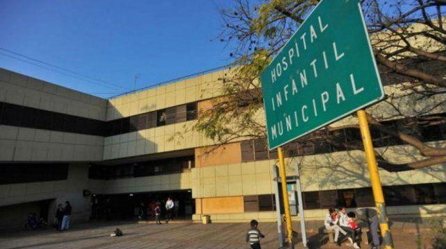Triste final. El bebé murió tras estar internado en el Hospital Infantil Municipal de Córdoba.