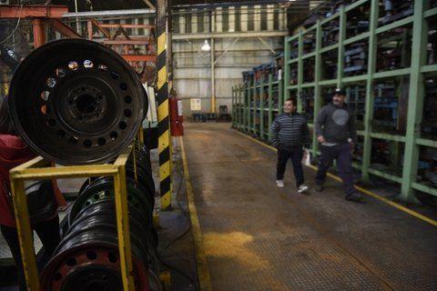 símbolo. La pelea por recuperar Mefro se convirtió en en un emblema de defensa de los puestos de trabajo.