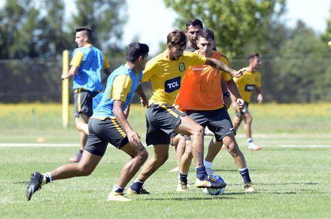 Acción. El fútbol está siempre presente.