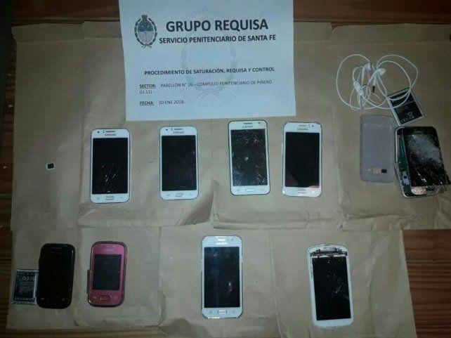 Requisan el pabellón donde está preso Lamparita Funes y secuestran nueve celulares