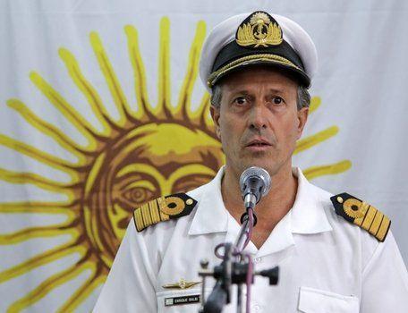 Balbi detalló el plan para cuando se retiren las naves extranjeras.