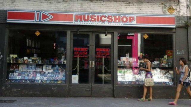 En ese local funcionó por muchos años la disquería Music Shop.