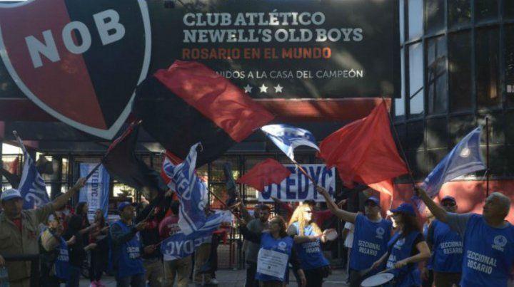 El paro de empleados del club quedó desactivado.