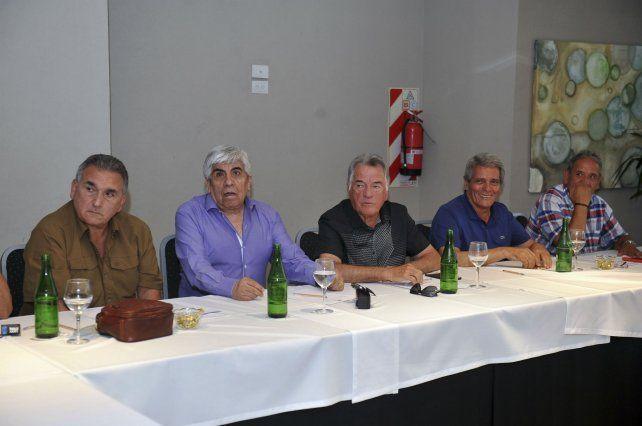 Los dirigentes sindicales compartieron un almuerzo en un hotel marplatense.