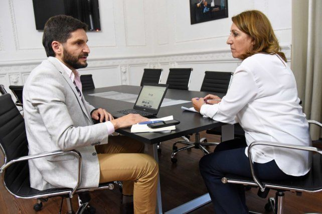 La intendenta Fein y el ministro Pullaro se reunieron por el rebrote de la violencia en Rosario