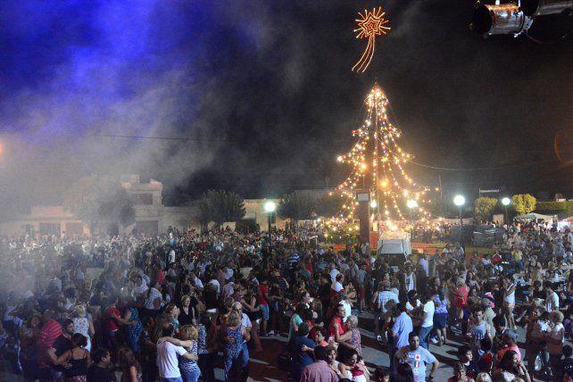 Convocante. La fiesta llegó a juntar hasta 7 mil personas.