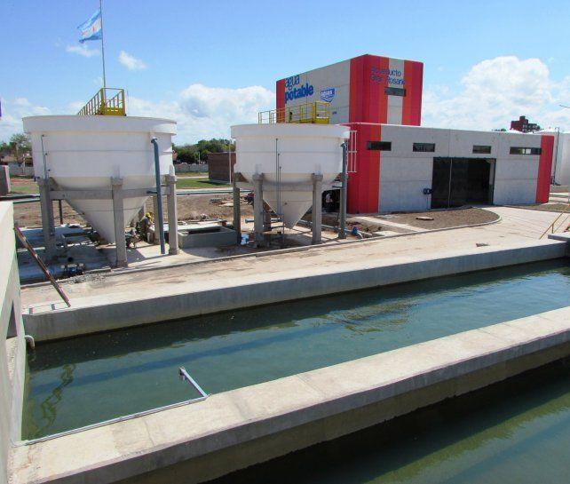 Aguas. La nueva planta potabilizadora de Rosario.