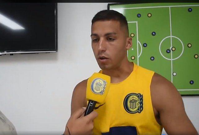 Tobio pidió disculpas en video institucional de Rosario Central.