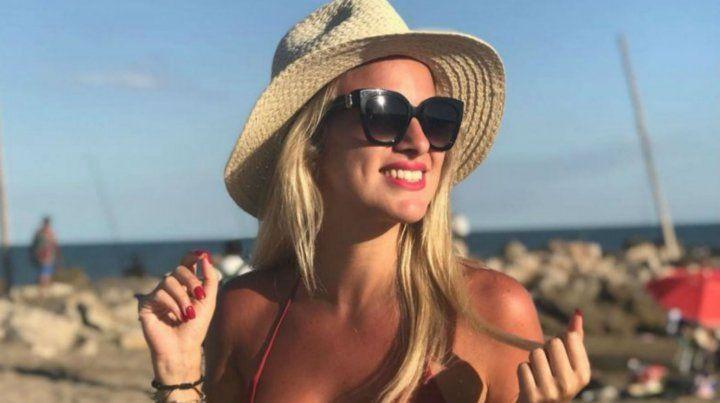 Ailén Bechara y su tierna postal embarazada en la playa