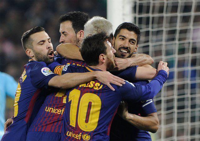 Indomable. Barcelona goleó a Betis con una gran versión de Leo Messi