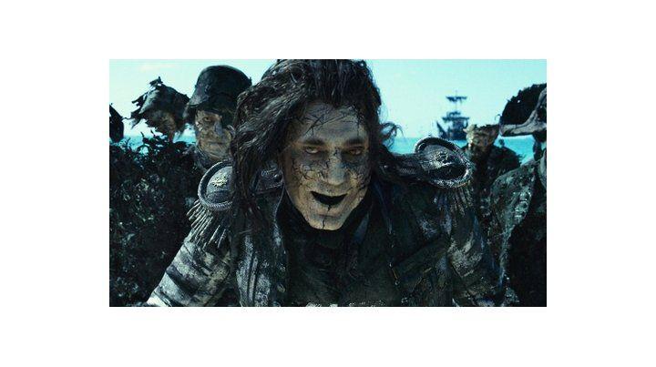 Javier Bardem en Piratas del Caribe 5.