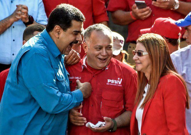 Apuesta. Maduro ya confirmó que será candidato a la reelección.