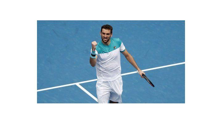 Imparable. El croata Marin Cilic sigue en un gran nivel y buscar á conseguir su segundo título de Grand Slam.
