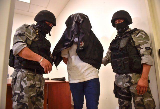 Alan Funes fue detenido en un departamento en el Fonavi de barrio Itaí.